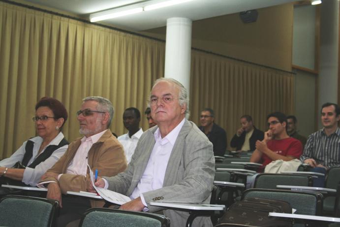 Público assistente às Conferências