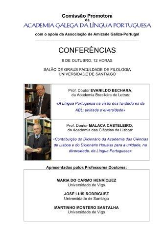 Cartaz Conferências