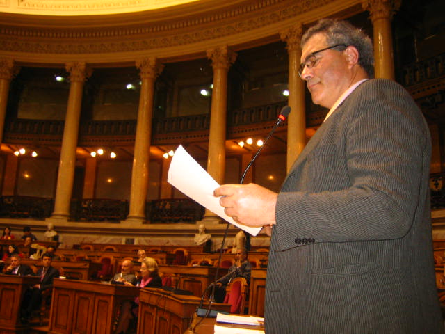 Alexandre Banhos na Assembleia da República