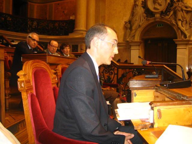 Ângelo Cristóvão na Assembleia da República