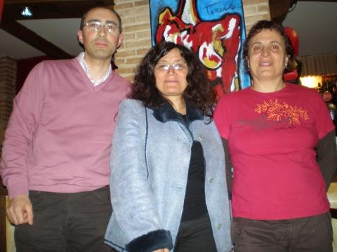 Ângelo Cristóvão, Concha Rousia e Irene Veiga
