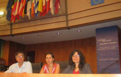 No Parlamento Europeu com Ana Miranda