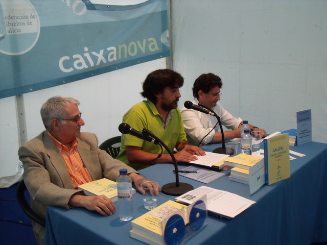 António Gil Hernández, Fernando Vásquez Corredoira e Ernesto Vázquez Souza