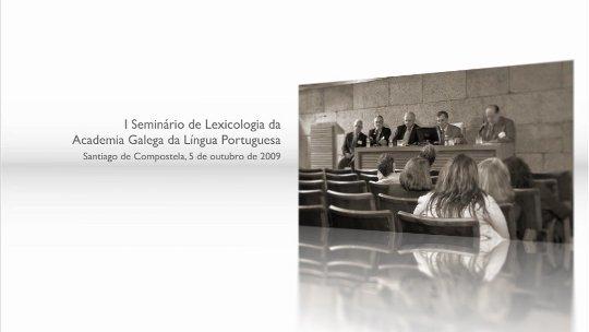DVDs do I Seminário de Lexicologia