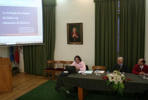 Profs. José Manuel Barbosa, Luís Aires-Barros e Ângelo Cristóvão