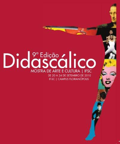 Cartaz 9º Didascálico - Mostra de Arte e Cultura