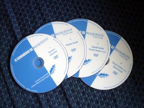 DVDs do II Seminário de Lexicologia