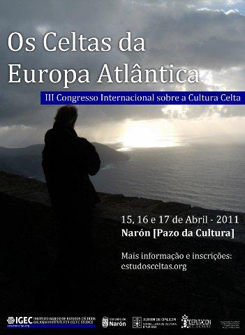 """Cartaz do Congresso """"Os Celtas da Europa Atlântica"""""""