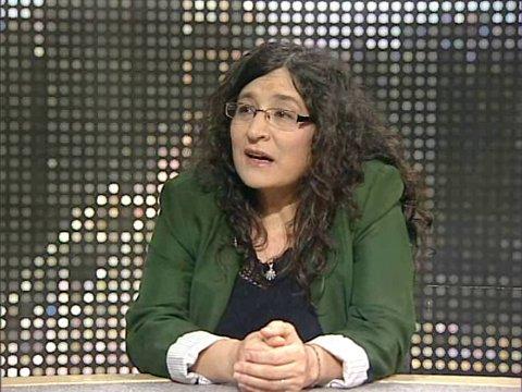 Concha Rousia entrevistada na TDM (Teledifusão de Macau)