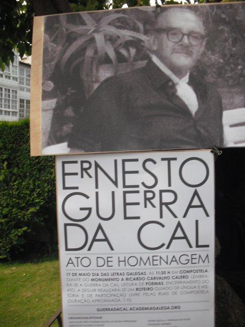 Ato de homenagem a Ernesto Guerra da Cal