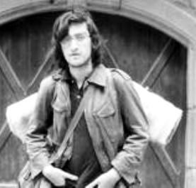 Lois Pereiro em 1975, com 17 anos