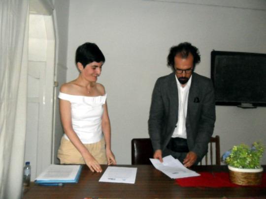 Maria Dovigo (AC Pró-AGLP) e Renato Epifânio (MIL)