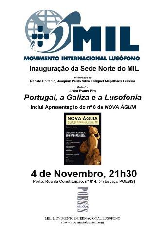 Cartaz do Movimento Internacional Lusófono