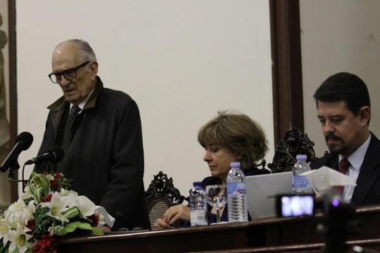 O professor Adriano Moreira no I Congresso da Cidadania Lusófona