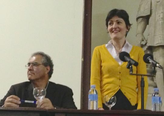 Alexandre Banhos e Maria Dovigo no I Congresso da Cidadania Lusófona