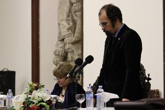 Renato Epifânio (MIL) e a Dra Maria Perpetua Rocha (PASC) no I Congresso da Cidadania Lusófona